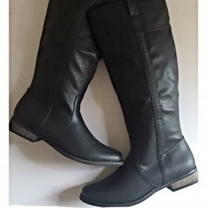 Rampage Icon Black Tall Riding Boot 7.5